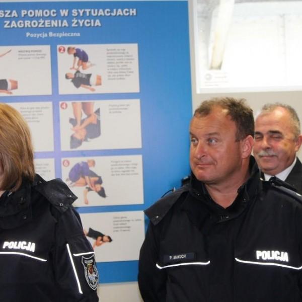 Posterunek Referatu Wodnego Policji - WOPR Szczecin
