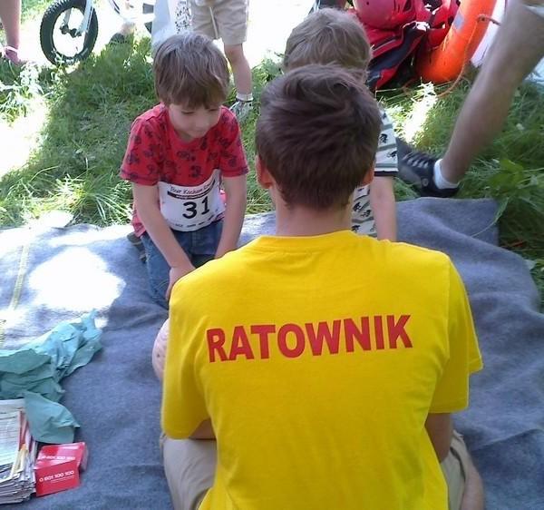Tour Kocham Rowerek 2014 w Szczecinie - WOPR Szczecin
