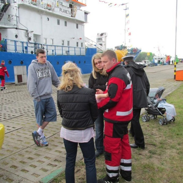 Pokazy i zabezpieczenie imprezy na Bazie Oznakowania Nawigacyjnego w WOPR Szczecin