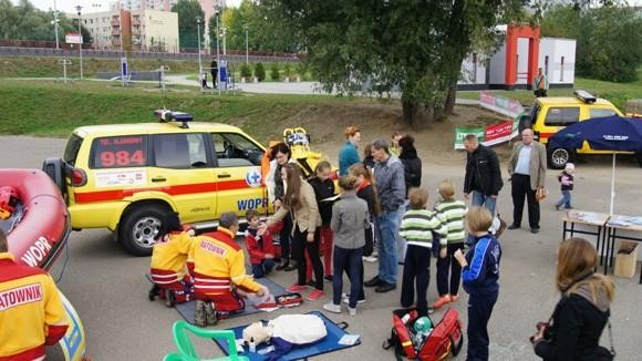 Festyn Żegnaj Lato na rok 2012 w WOPR Szczecin