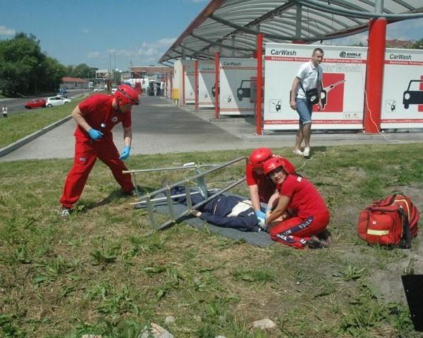 Mistrzostwa kwalifikowanej pierwszej pomocy ziemi zachodniopomorskiej - WOPR Szczecin